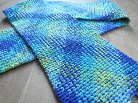Ta da! Colour Pool Scarf – Catherine's Crochet Corner